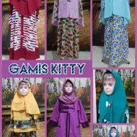 Distributor Gamis Kitty Anak Perempuan Syar'i Murah Surabaya
