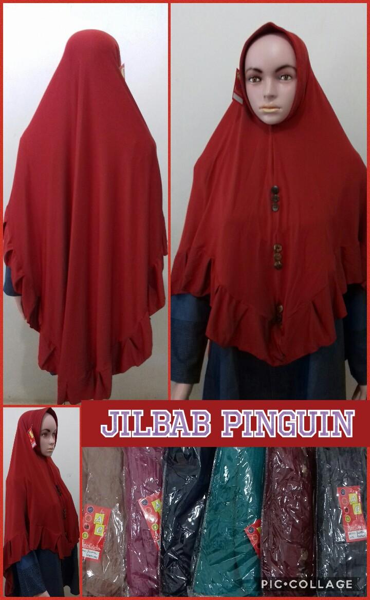 Distributor Jilbab Pinguin Murah Surabaya 28 Ribuan