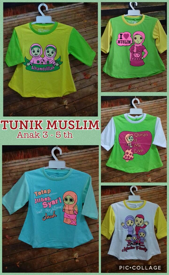 Grosir Murah di Surabaya Distributor Kaos Muslim Anak Terbaru Murah Surabaya 20ribuan