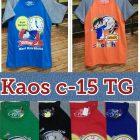 Supplier Kaos c-15 TG Murah Surabaya 16ribuan