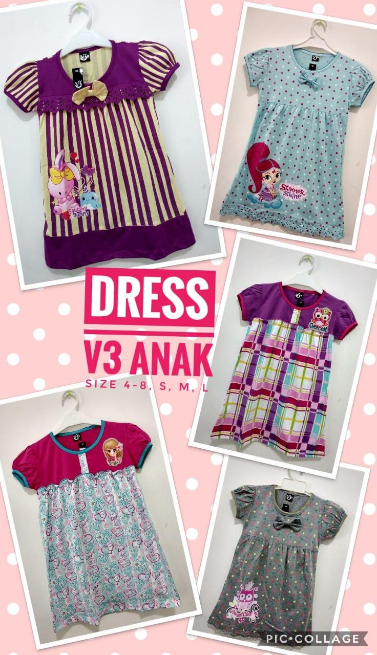Grosir Murah di Surabaya Pabrik Dress Anak Terbaru Murah 28ribuan