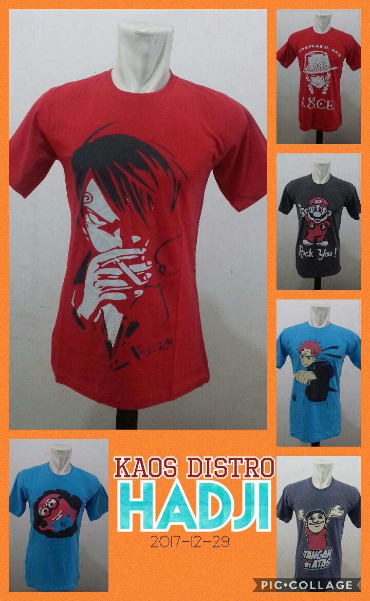 Grosir Murah di Surabaya Distributor Kaos Distro Hadji Dewasa Branded Murah 26Ribu