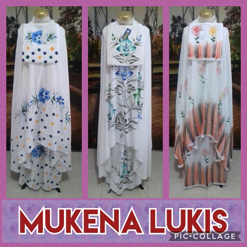 Grosir Murah di Surabaya Distributor Mukena Bali Lukis Dewasa Murah Surabaya 75Ribu