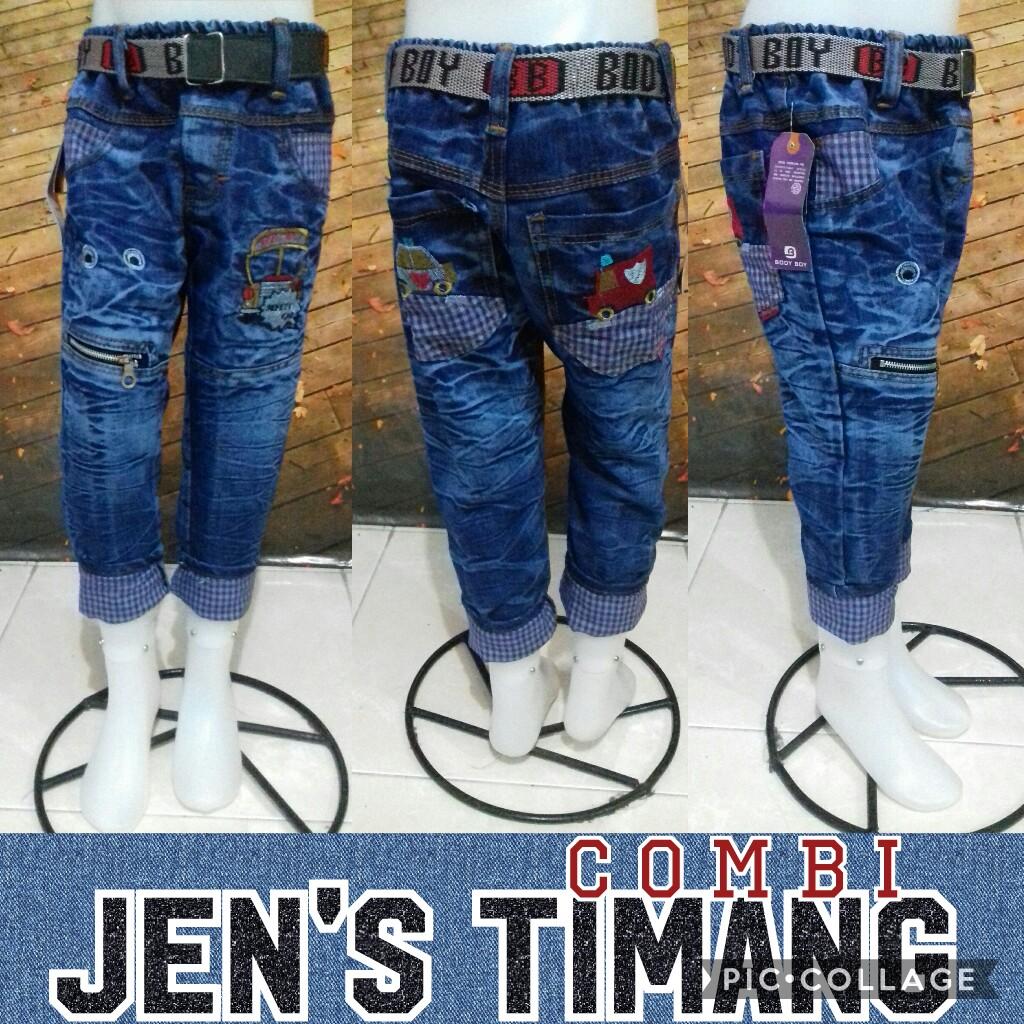 Grosir Murah di Surabaya Produsen Celana Jeans Timang Combi Anak Murah 45Ribu