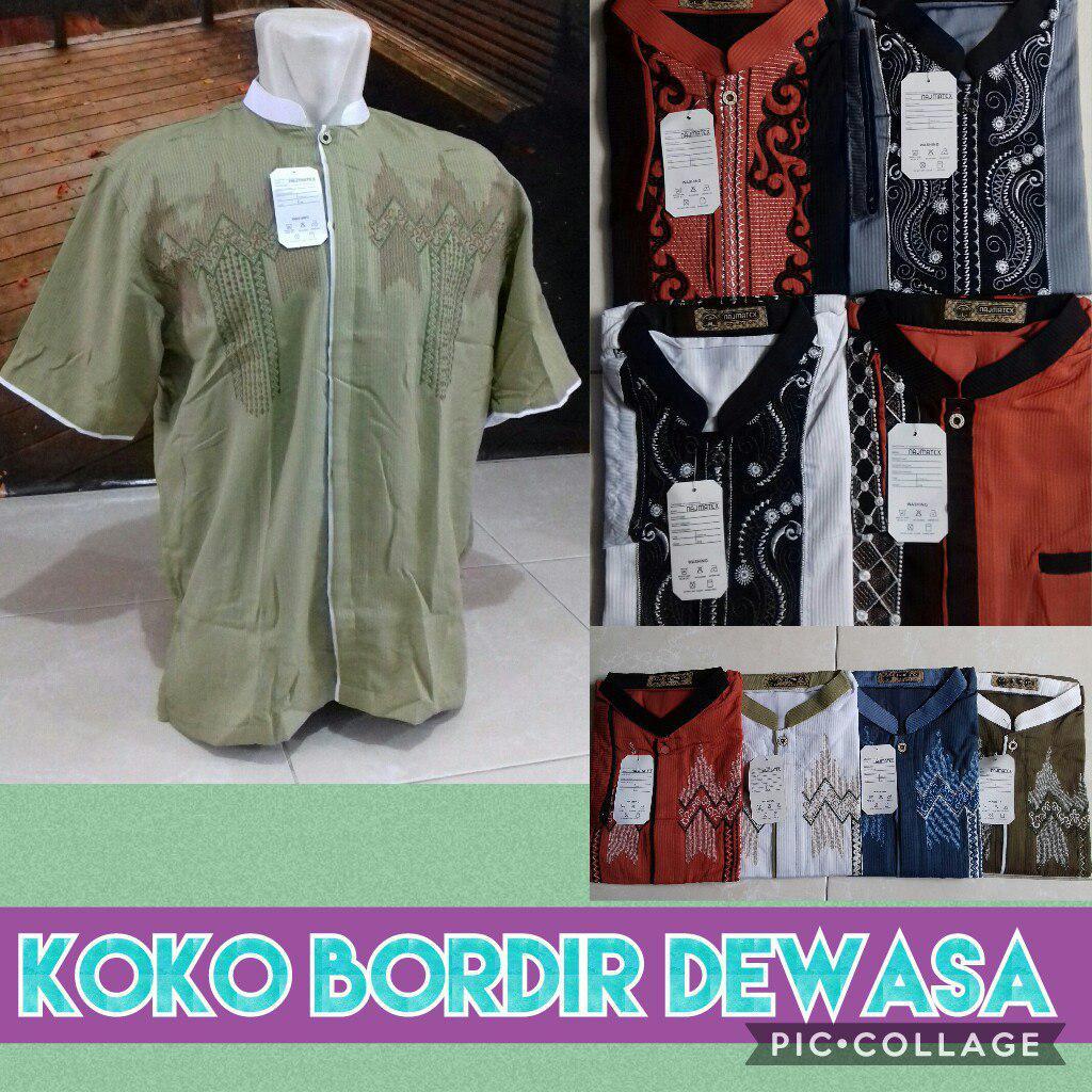 Grosir Murah di Surabaya Pabrik Koko Bordir Dewasa Murah 45ribuan