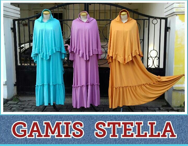 Grosir Murah di Surabaya Supplier Gamis Stella Perempuan Murah 85Ribuan