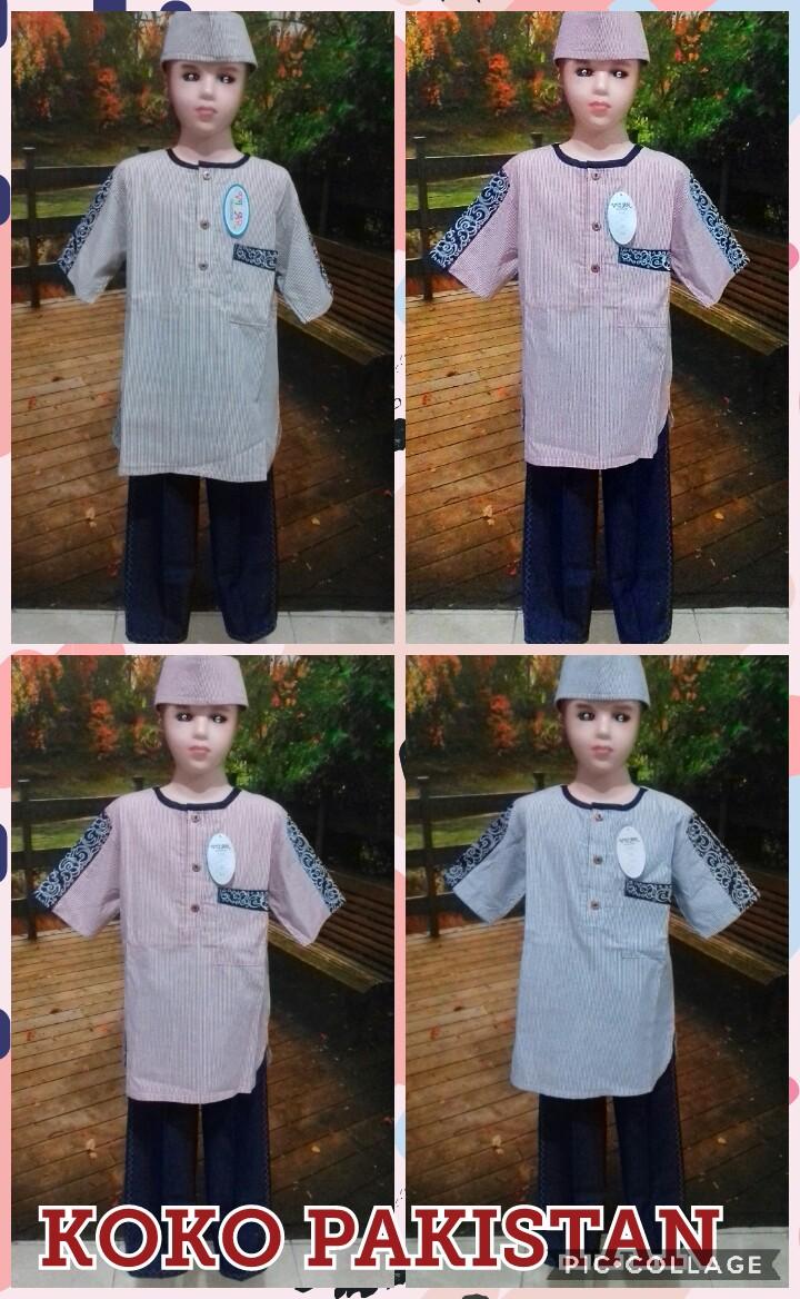 Supplier Baju Koko Pakistan Anak Laki Laki Murah Surabaya