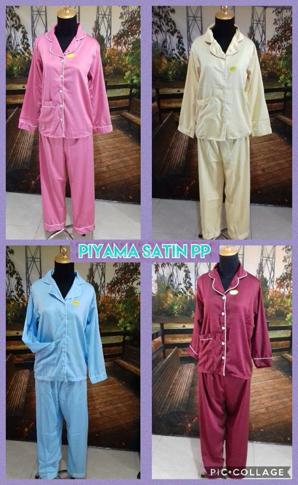 Grosir Murah di Surabaya Distributor Pakaian Piyama Satin PP Murah 70 Ribuan