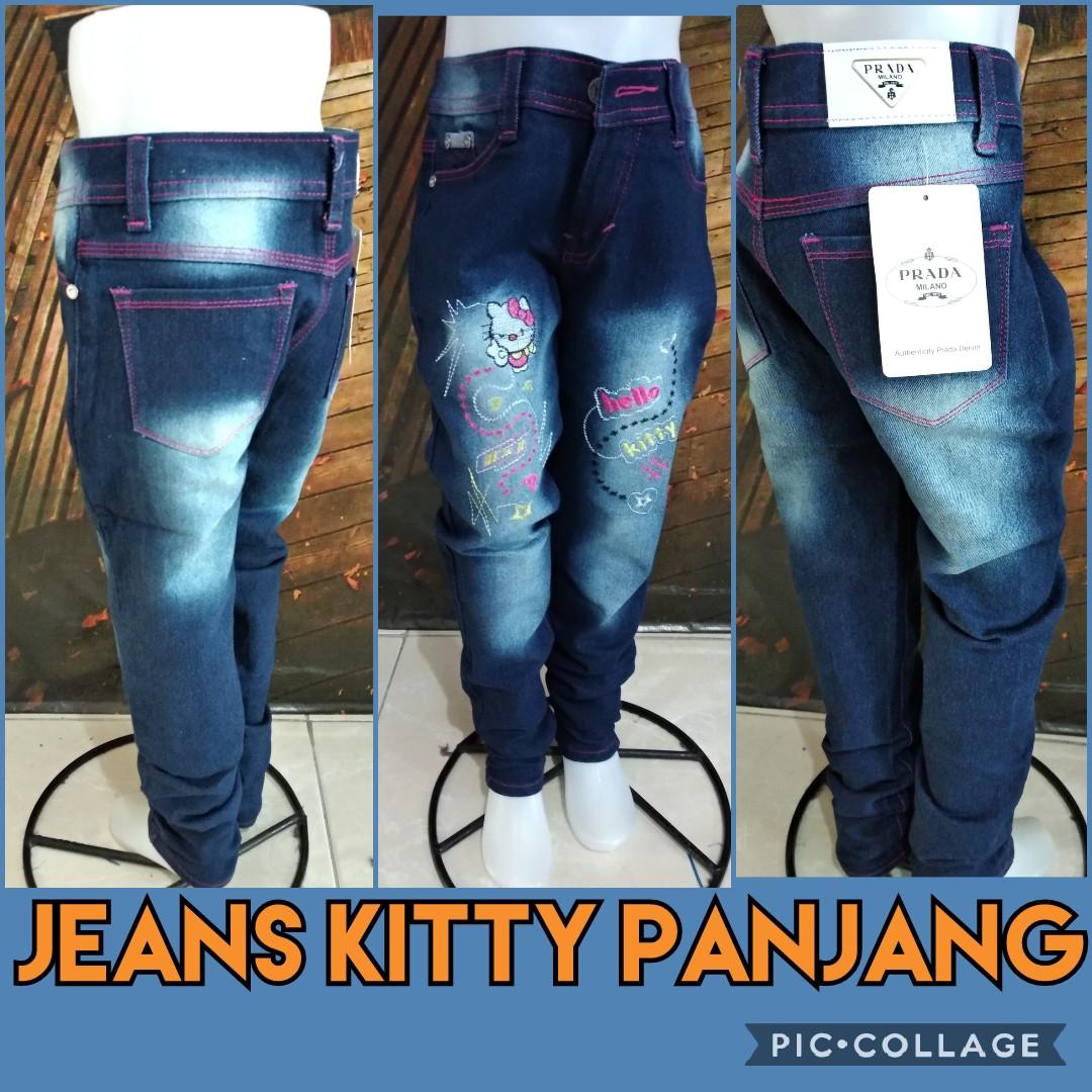 Grosir Celana Jeans Kitty Panjang Murah 44ribuan