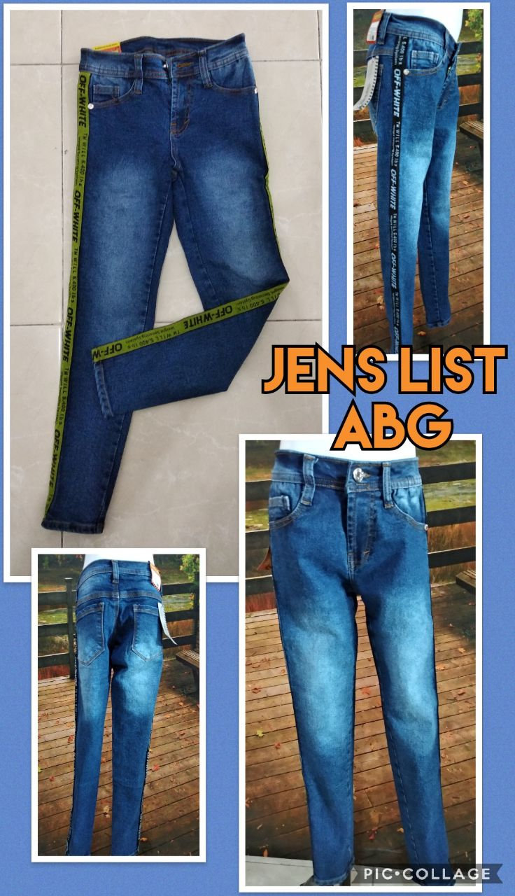 Grosir Murah di Surabaya Grosir Jeans List ABG Terbaru Murah 58ribuan