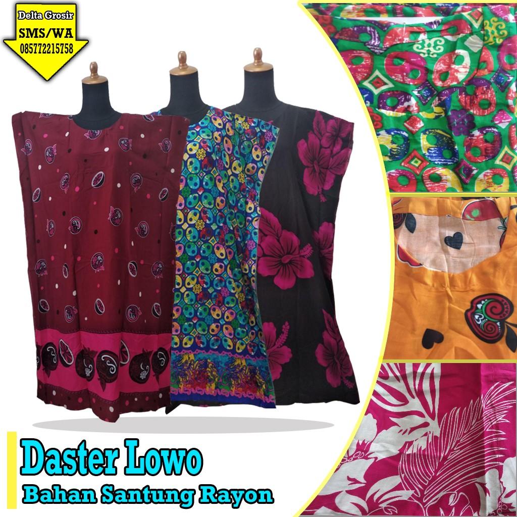 Grosir Murah di Surabaya Distributor Daster Lowo Dewasa Murah 31ribuan