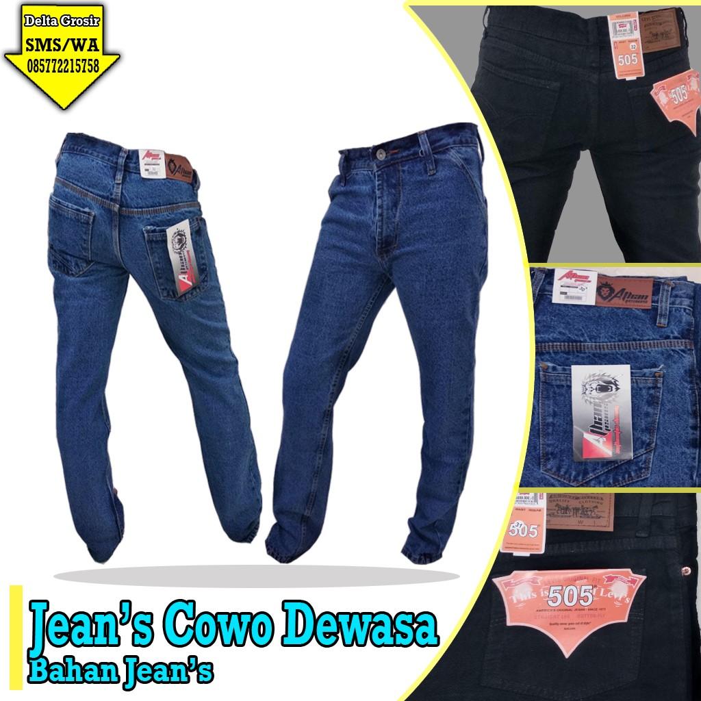 Grosir Murah di Surabaya Konveksi Celana Jeans Dewasa Murah 60ribuan