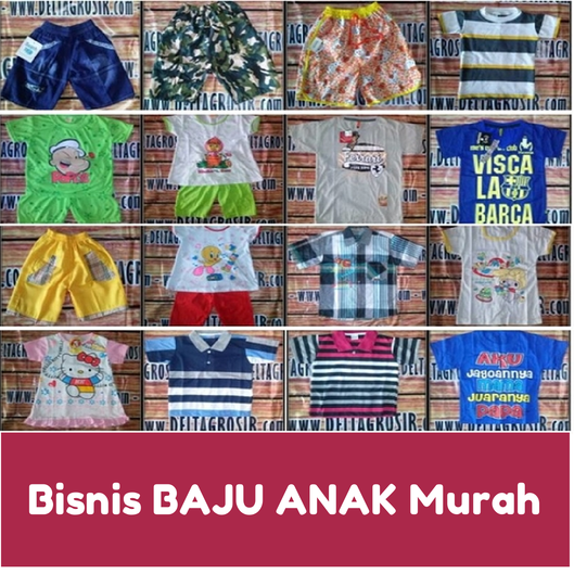 Bisnis Baju Anak murah surabaya