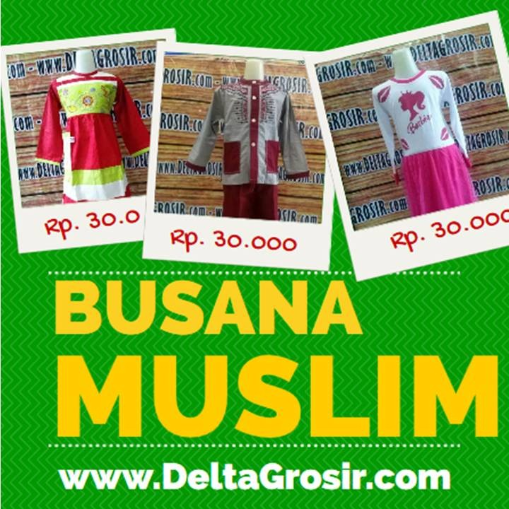 Gudang Grosir baju muslim murah surabaya