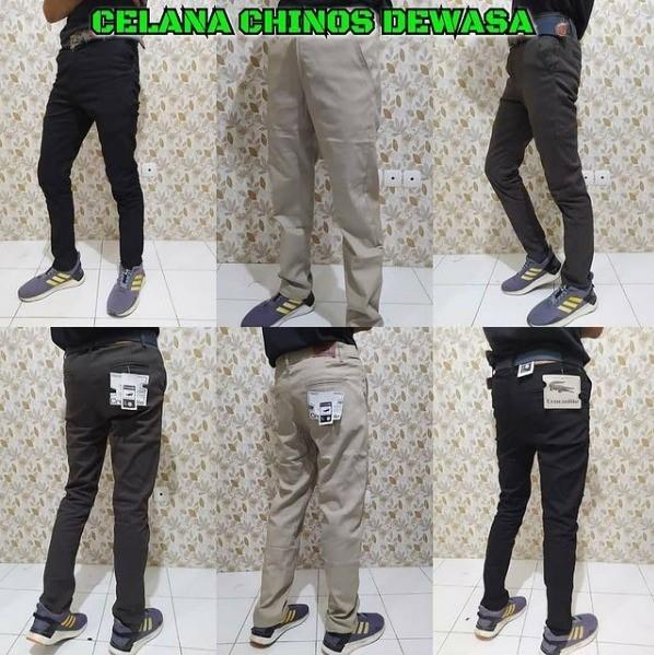 Distributor Celana Chinnos Panjang Dewasa Sidoarjo